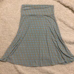 Lularoe Azure Skirt Size M